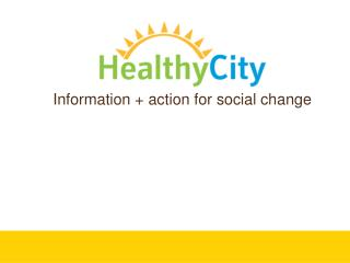Healthy City Training in E. Salinas BHC