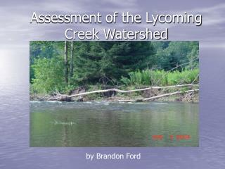 Assessment of the Lycoming Creek Watershed
