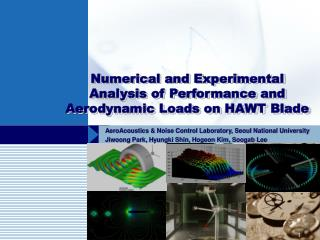 Numerical and Experimental Analysis of Performance and Aerodynamic Loads on HAWT Blade