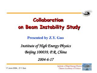 Collaboration  on Beam Instability Study