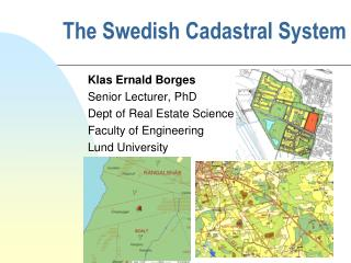 The Swedish Cadastral System