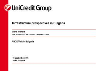 Infrastructure prospectives in Bulgaria