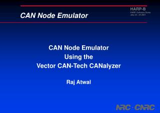 CAN Node Emulator