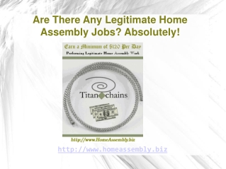 Assemble Products at Home for Top Pay