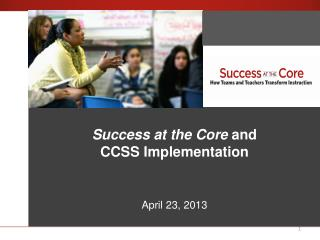 Success at the Core  An Introduction