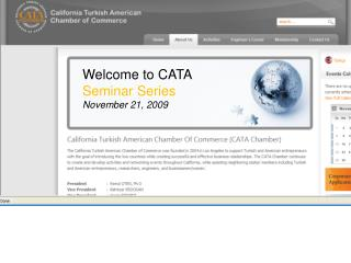 Welcome to CATA Seminar Series November 21, 2009