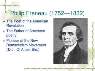 Philip Freneau (1752—1832)