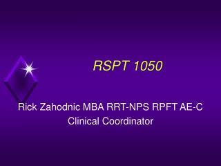 RSPT 1050