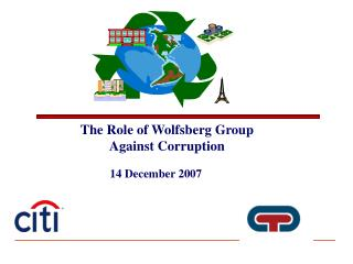 The Role of Wolfsberg Group Against Corruption