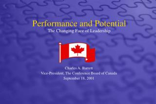 Performance and Potential   The Changing Face of Leadership