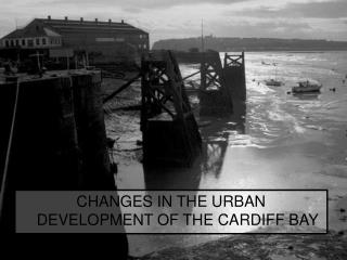 CHANGES IN THE URBAN DEVELOPMENT OF THE CARDIFF BAY