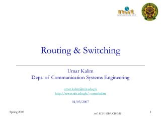 Routing & Switching
