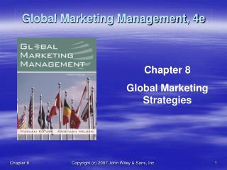 Global Marketing Management, 4e