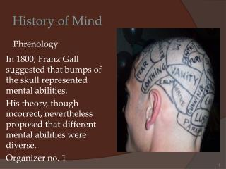 History of Mind