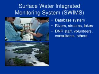 Surface Water Integrated Monitoring System (SWIMS)