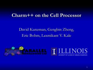 Charm++ on the Cell Processor