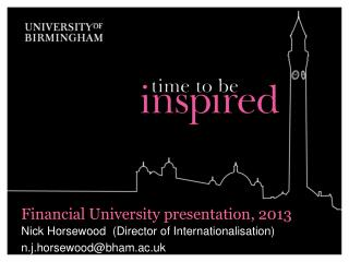 Financial University presentation, 2013