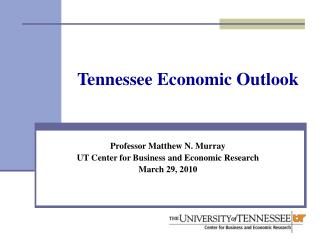 Tennessee Economic Outlook