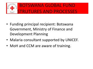 BOTSWANA GLOBAL FUND STRUTURES AND PROCESSES
