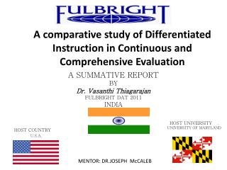 A comparative study of Differentiated Instruction in Continuous and Comprehensive Evaluation
