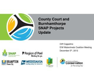 County Court and Burnhamthorpe  SNAP Projects  Update