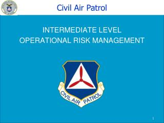INTERMEDIATE LEVEL OPERATIONAL RISK MANAGEMENT