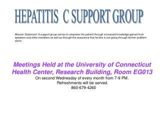 HEPATITIS C SUPPORT GROUP