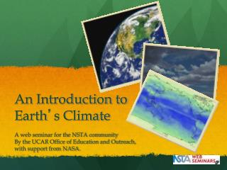 An Introduction to Earth ' s Climate