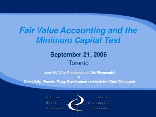 Fair Value Accounting and the Minimum Capital Test