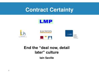 Contract Certainty