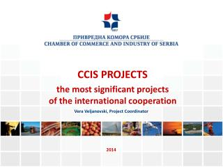 CCIS PROJECTS the most significant projects  of the international cooperation