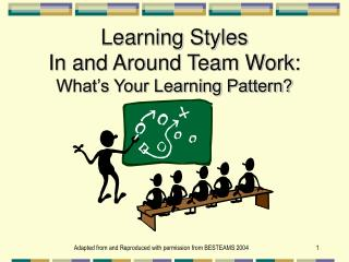 Learning Styles In and Around Team Work: What's Your Learning Pattern?