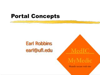 Portal Concepts