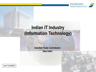 Indian IT Industry (Information Technology)