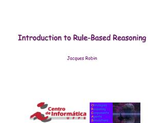 Introduction to Rule-Based Reasoning
