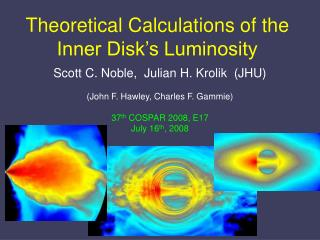 Theoretical Calculations of the Inner Disk's Luminosity