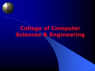 College of Computer Sciences & Engineering
