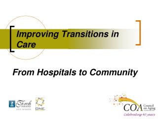 Improving Transitions in Care