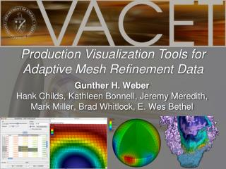 Production Visualization Tools for Adaptive Mesh Refinement Data