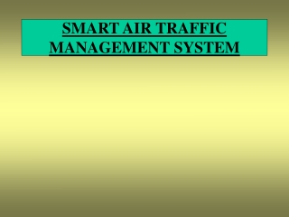 Sensor Management System for Air Traffic Control