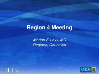 Region 4 Meeting