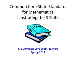 Common Core State Standards for Mathematics:  Illustrating the 3 Shifts