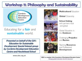 Workshop 11: Philosophy and Sustainability