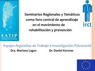 Seminarios Regionales y Temáticos            como foro central de aprendizaje