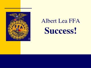 Albert Lea FFA Success!