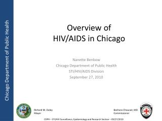 Overview of HIV/AIDS in Chicago