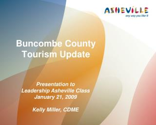 Buncombe County Tourism Update