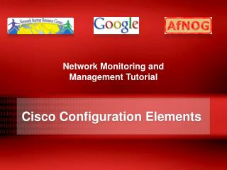Cisco  Configuration Elements