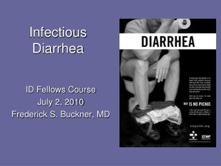 Infectious Diarrhea