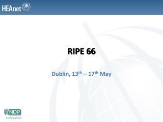 RIPE 66